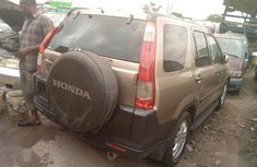 Foreign Used Honda CR-V 2005 2.0i ES Gold Colour