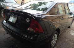 Clean Nigerian used  Ford Focus 2004 Black