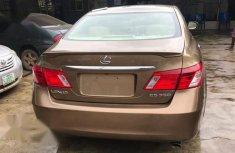 Neatly Used Tokunbo Lexus ES 2007 Brown