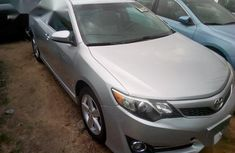 Foreign Used Toyota Camry 2015 Silver