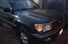 Fairly Used Nigerian Used Toyota Land Cruiser 2002 Black