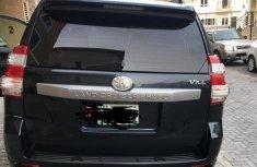 Neatly Used Nigerian Used Toyota Land Cruiser Prado 2016 Black