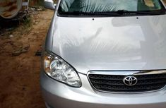 Foreign Used Toyota Corolla 2006 LE Gray