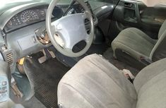Neat Nigerian used Toyota Previa 1999 Blue