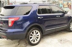 Foreign Used Ford Explorer 2011 Blue