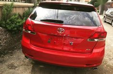Neatly Used Tokunbo Toyota Venza 2015 Red