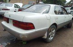 Neat Nigerian used Lexus LS 1999 White
