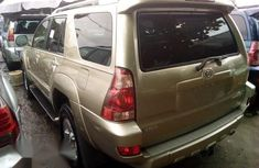 Foreign Used Toyota 4-Runner 2005 Limited V6 Gold