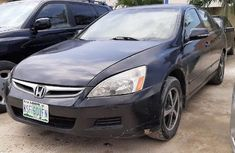 Clean Nigerian used Honda Accord 2006 Black