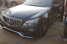 Neatly Used Tokunbo Mercedes-Benz E350 2013 Black