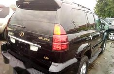 Foreign Used Lexus GX 2005 470 Sport Utility Black