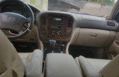 Clean Nigerian used Toyota Land Cruiser 2002 Green