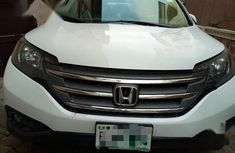Clean Nigerian used Honda CR-V 2012 White