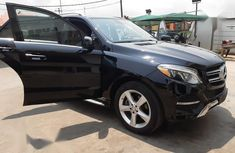Foreign Used Mercedes-Benz GLE-Class 2017 Black