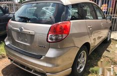 Foreign Used Toyota Matrix 2002 Gold
