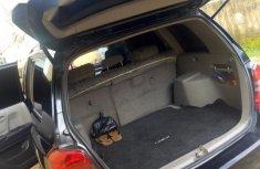 Neat Nigerian used Toyota Highlander 2002 Black
