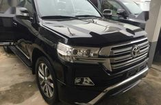 Neat Foreign used Toyota Land Cruiser 2015 Black