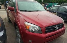 Neat Foreign used Toyota RAV4 2008 Limited V6 Red