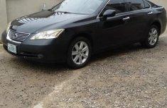 Nigerian Used Lexus ES 2008 350 Black