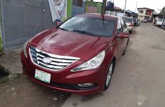 Well Maintained Nigerian used Hyundai Sonata 2011 Red