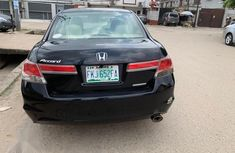 Nigerian Used Honda Accord 2011 Black