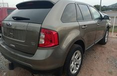 Neat Foreign used Ford Edge 2012 Gray