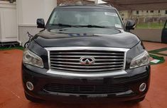 Very Clean Foreign used Infiniti QX 2011 Black