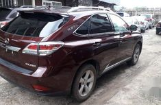 Neat Foreign used Lexus RX350 F 2013 SPORT AWD Red