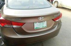 Nigerian used Hyundai Elantra 2013 Brown