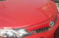 Neat Foreign used Toyota Camry 2014 Red