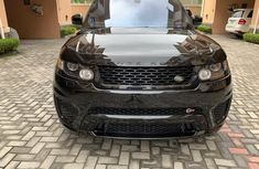 Sell very cheap clean black 2016 Land Rover Range Rover Sport in Lagos