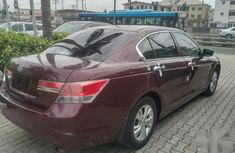 Clean Tokunbo Honda Accord 2009 2.4 Executive Red