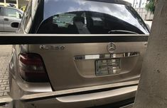 Very clean Tokunbo Mercedes-Benz M Class 2006 Gold