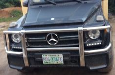 Nigerian Used Mercedes-Benz G-Class 2010 Black