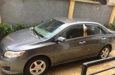 Neat Nigerian used Toyota Corolla 2008 Gray