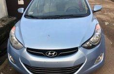 Very Tokunbo Hyundai Elantra 2012 Limited Blue