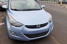 Blue 2012 Hyundai Elantra automatic for sale at price ₦3,900,000 in Lagos