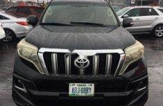 Sell used black 2012 Toyota Land Cruiser Prado suv / crossover at cheap price