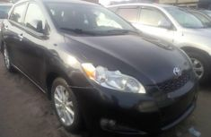 Sell used black 2010 Toyota Matrix hatchback automatic in Lagos