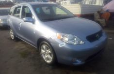 Neatly used blue 2008 Toyota Matrix automatic in Lagos