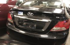 Nigerian Used Hyundai Accent 2013 Black