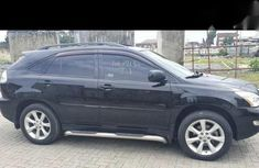 Neat Foreign used Lexus RX 2004 Black