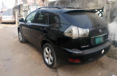 Neat Nigerian used Lexus RX 2005 Black