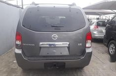 Foreign Used Nissan Pathfinder 2007 SE 4x4 Gray