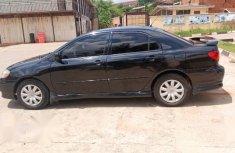 Neat Nigerian used Toyota Corolla 2004 S Black