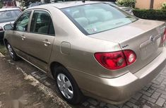 Very Clean Foreign used Toyota Corolla 2006 LE Beige