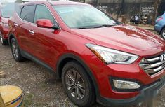 Foreign Used Hyundai Santa Fe 2016 Red