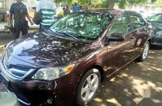 Foreign Used Toyota Corolla 2013 Purple