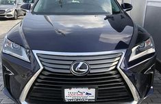 Neat Foreign used Lexus RX 2018 Blue
