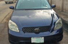Nigerian Used Toyota Matrix 2003 Blue